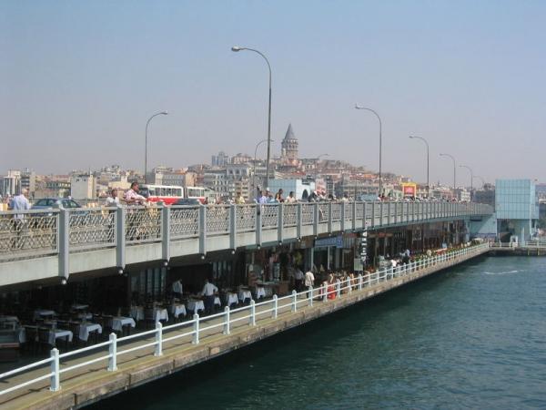 Galata Köprüsü Panorama