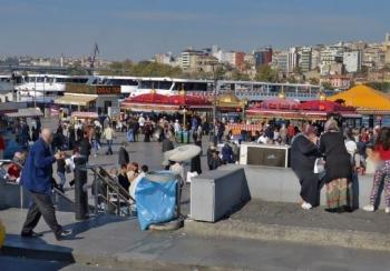 İstanbul Eminönü Panorama
