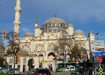 Şehzadebaşı Camii Panorama
